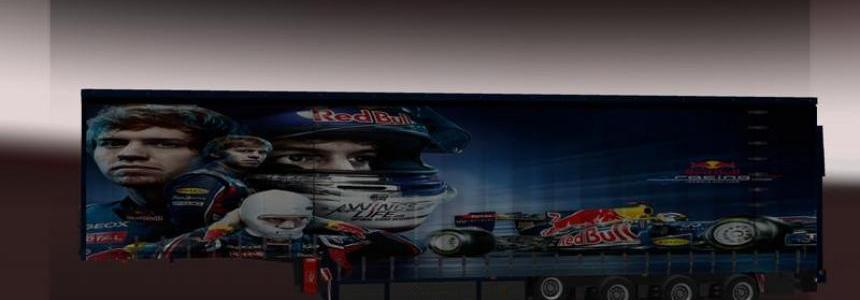 Vettel MAN Trailer Red Bull Style