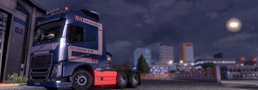Volvo City Container A/S skin 14.x 15.x 16.x