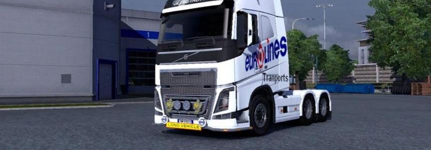Volvo FH 2012 Eurolines Transports Skin