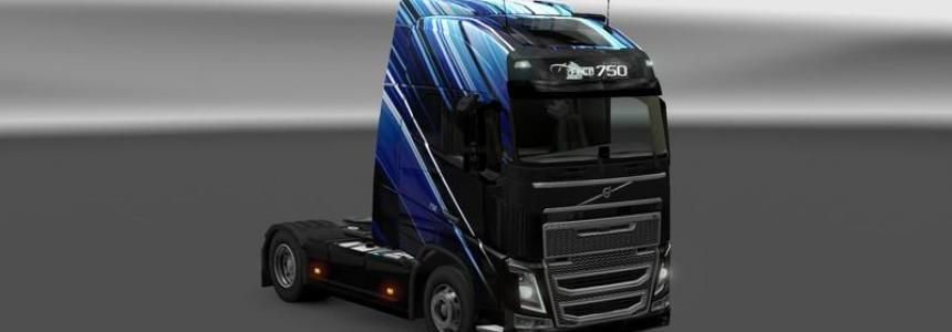 Volvo FH 2012 Skin Stripes v1.0