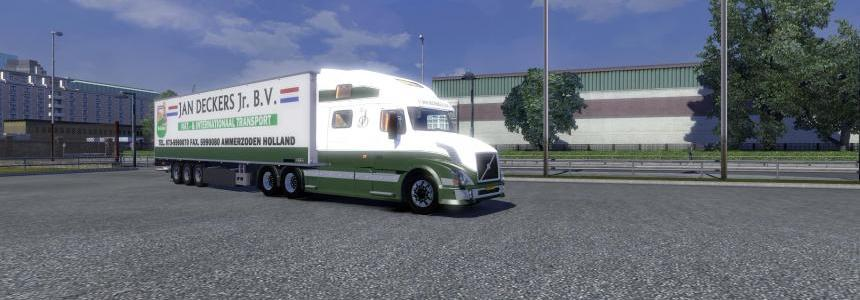 Volvo VNL & Trailer - Jan Deckers Jr. 1.15.X