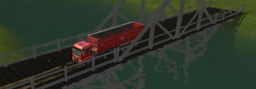 Wooden bridge v1.0