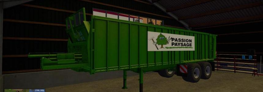 Wood trailers passion paysage Pack v1