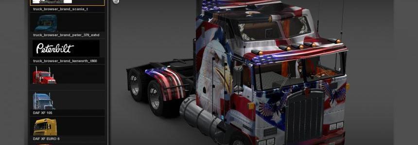 American Flag SKIN 1