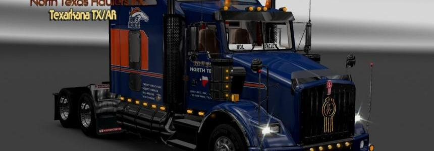 B62-Kenworth T800 Uncle D Logistics North Texas Haulers Inc. Skin V1