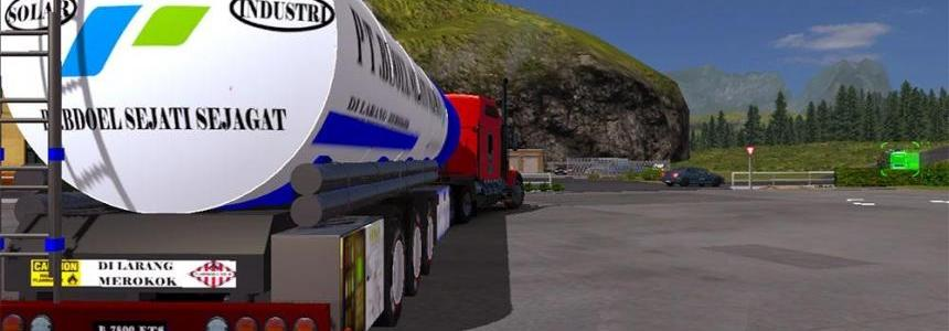 Bdoel industri trailer
