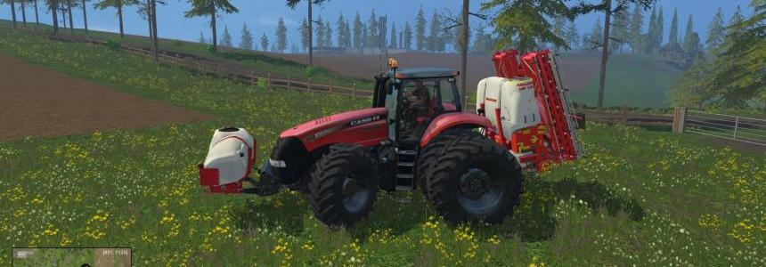 CaseIH Magnums with front attachers. Twin Pack V1.4b
