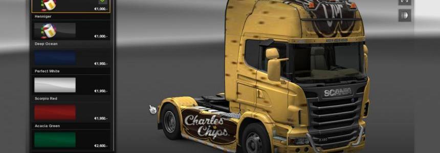 Charles Chips Truck Skin v1