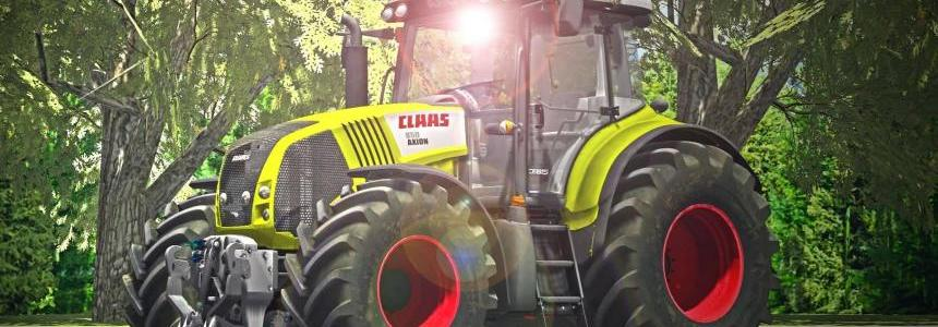 Claas Axion 850 V2 + Washable