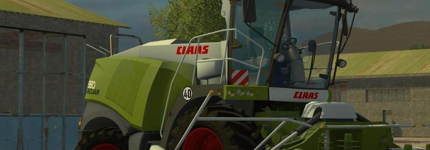 Claas Jaguar 980 Washable v1