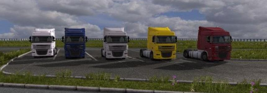 DAF XF Map Models