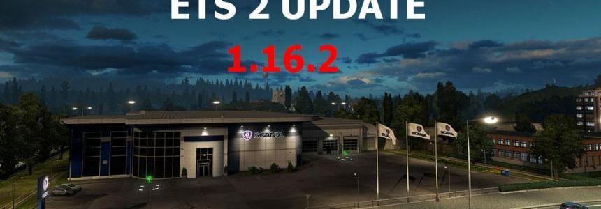 ETS 2 Update v1.16.2