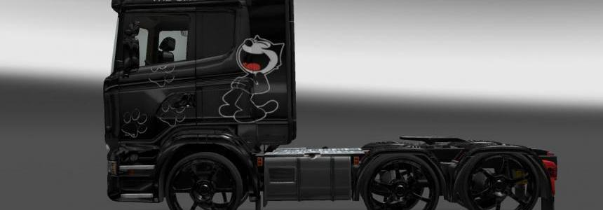 Felix The Cat Scania Skin 1.16