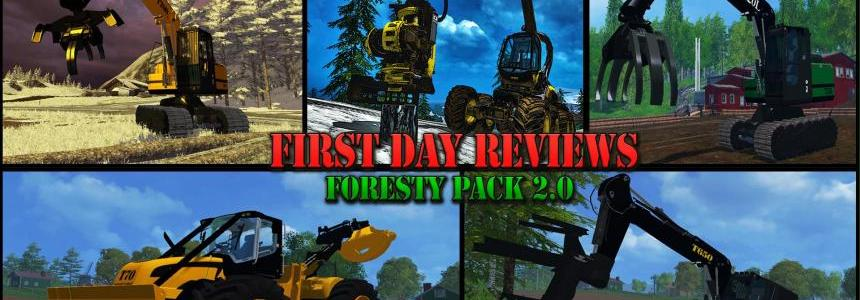 First Day Reviews - Forestry Pack v2.0