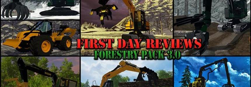 First Day Reviews - Forestry Pack v3.0