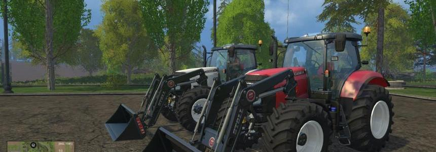 Fixed CASEIH Puma's with Front Loader Brackets V1.4 Final