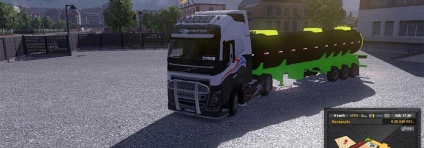 Fuel tank ouro verde trailer