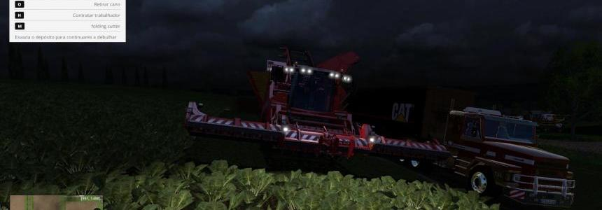 GRIMME - 120000 LITERS - 1050 HP - POTATO/BEET FS 2015