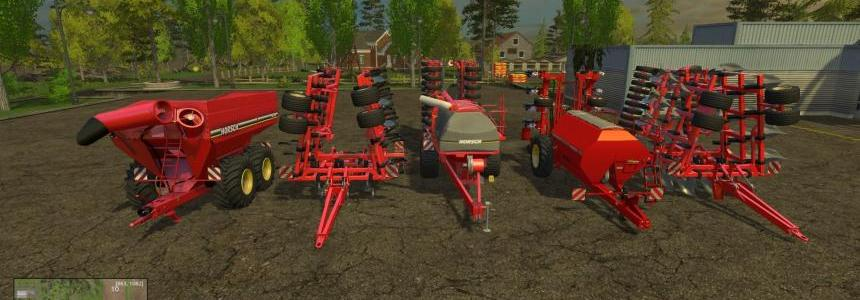 Horsch Pack Tiger Multiplough, Cultivator, Pronto, Maestro and Titan V1.1