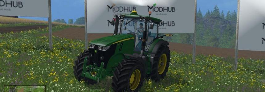 John Deere 7200R New version