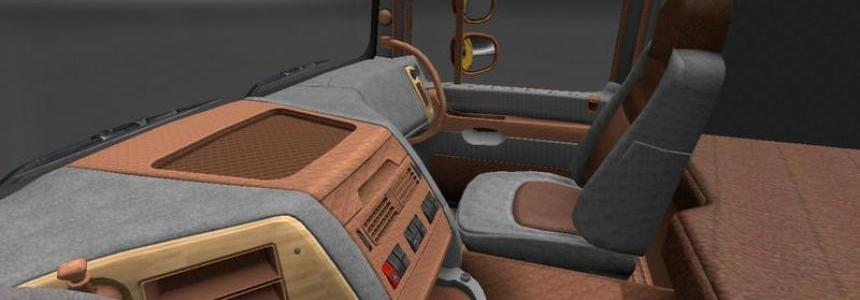 Leather Dark for DAF XF v1.15