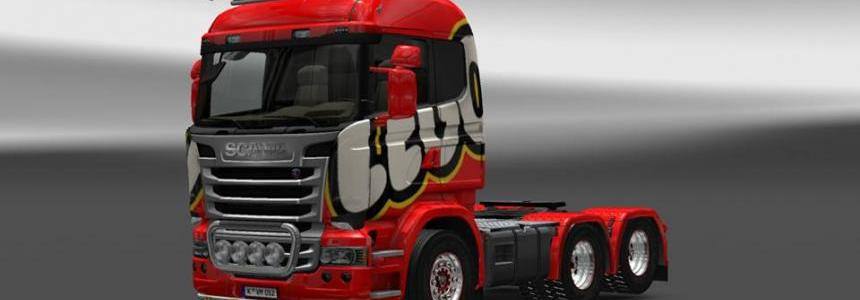 Lego Scania Skin 1.16