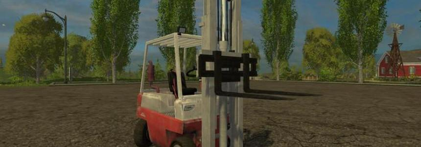 Linde forklift and the load v1.1