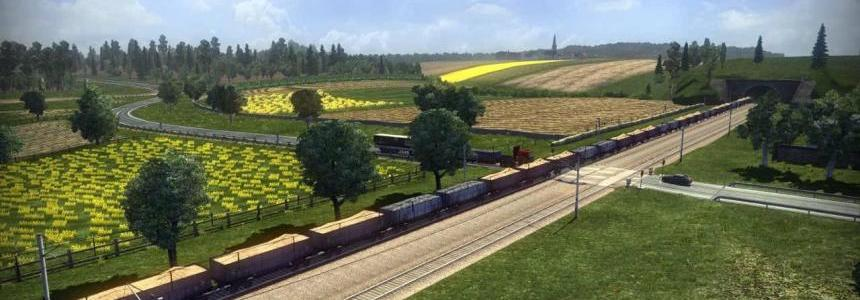 Long train for standart map v1.16