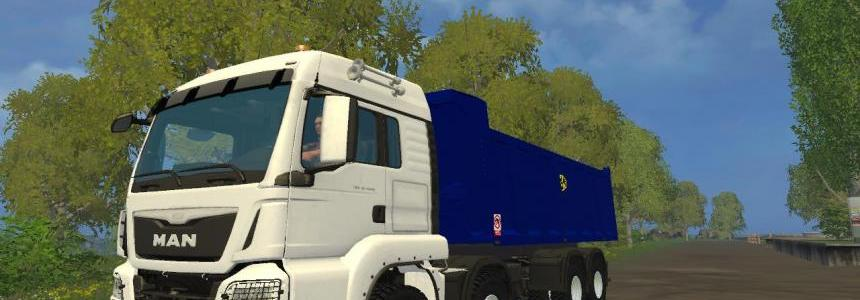 Man 8x8 Tipper V1