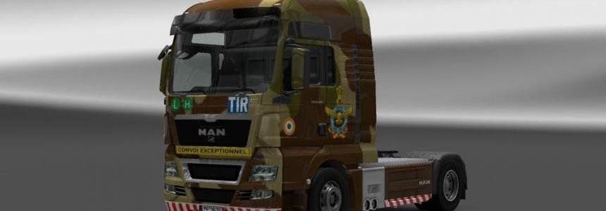 MAN Indian Air Force Camo Skin