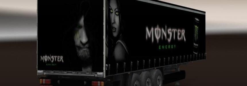 Monster Energy Trailer