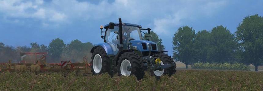 New Holland T 6160 Potencia Rural v5.0