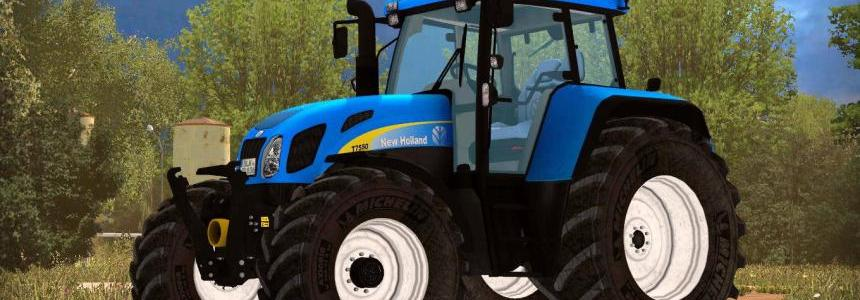 New Holland T7550 V2