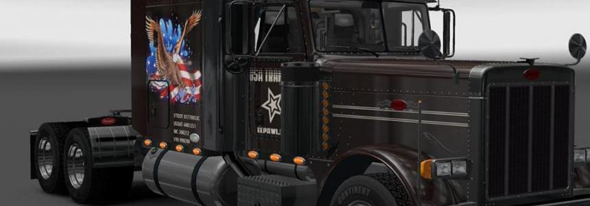 Peterbilt 379 USA Transport Skin 1.16