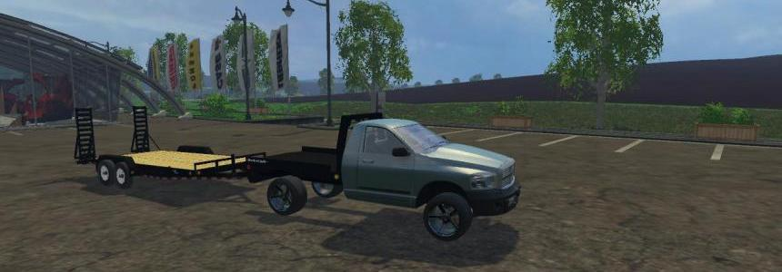 Piqup singlecab flatbed
