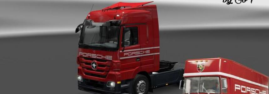 Porsche retro skin for actros v1.0