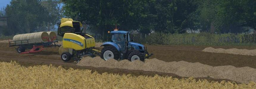 Pro New Holland Roll Bel T 150 Attacher v2.0