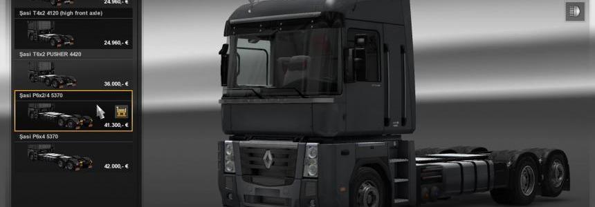 Renault Magnum Updates v11.40 1.16