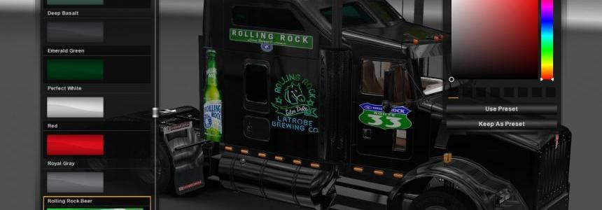 Rolling Rock Beer Set v1