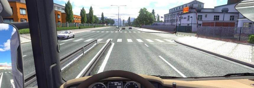 Scania R 2009 New gauges for Beige interior v1.2