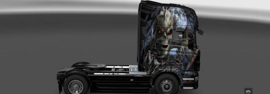Scania R Warrior Skin v1.0