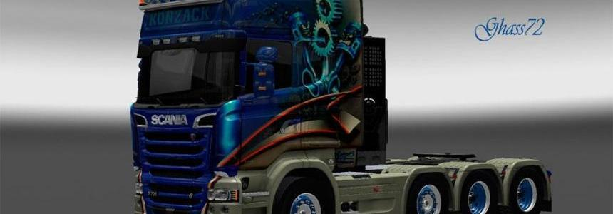 Scania Streamline Konzack skin