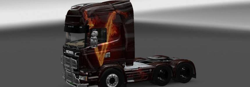 Scania Streamline V Vendetta Skin