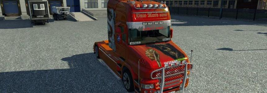 Scania Super V8 Open Pipe Sound Mod v3.0