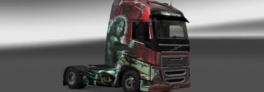 Skin Blade Volvo FH16 2012