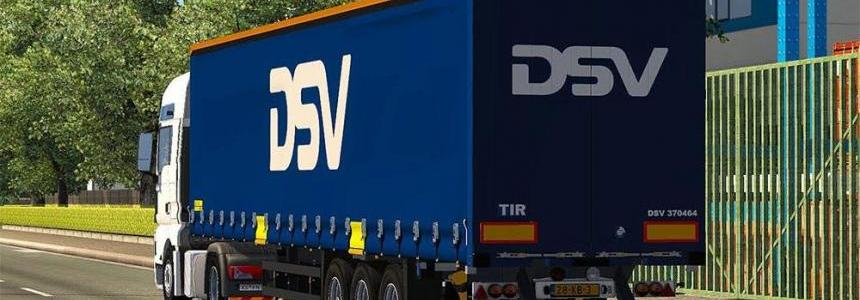 Skin DSV for Schmitz trailer