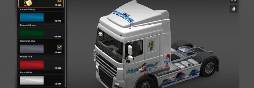 Smurfs Truck v1