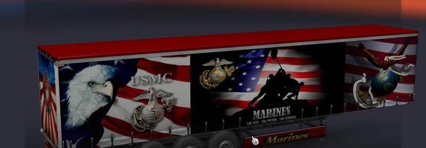 USMC Trailer skin v2