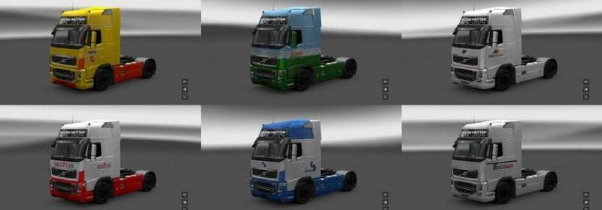 Volvo company skin for ETS  1.16.x