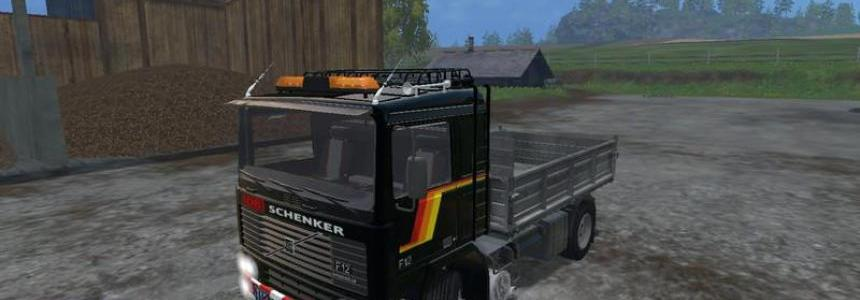 Volvo F12 Kipper v1.0 Clean